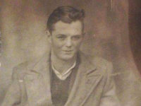 Mike before he emigrated to Canada in 1948.